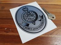 "Lucas Family Motto Sticker. 2.5"", 4"", or 5"""