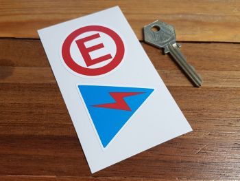 Electrical & Fire Extinguisher Switch Stickers. 30mm, 50mm or 80mm.