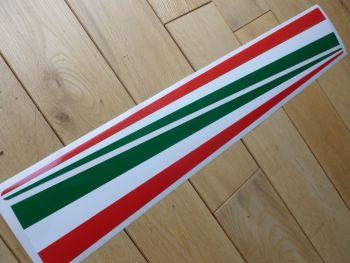 Italia Tricola Wing spear type Stickers pair. 530mm