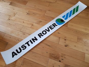 "Austin Rover Screentop Style Sticker. 52""."