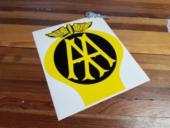AA Old Style Reverse Colouring Sticker 8""