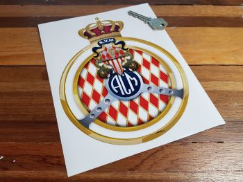 ACM Automobile Club de Monaco Logo Sticker 8""