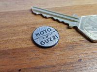 Moto Guzzi Eagle  & Text Circular Self Adhesive Bike Badge. 13mm or 18mm.
