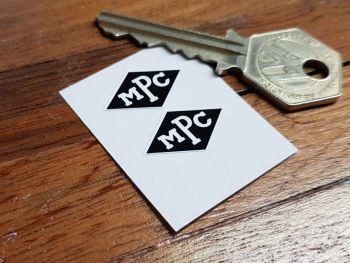 "MPC Diamond Logo Stickers 1"" Pair"