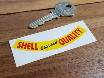Shell Assured Quality Bottle/Can Sticker 80mm
