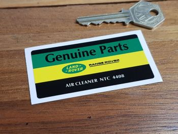 Land Rover Range Rover Air Cleaner NTC 4408 Sticker 3""