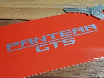 "Pantera GTS Cut Vinyl Text Stickers 4.75"" Pair"