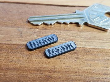 Fiaam Self Adhesive Badges 20mm Pair