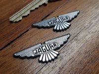 Jaguar Winged Lozenge Self Adhesive Car Badges 1.75