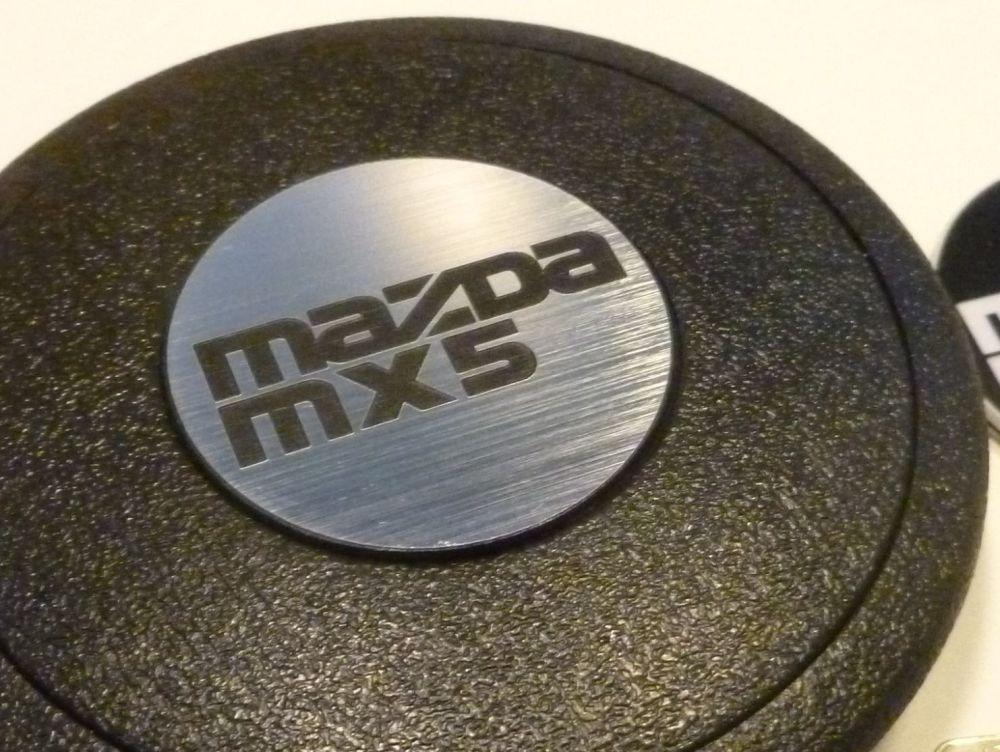 Mazda Mx5 Self-Adhesive Steering Wheel Badge. 39mm.