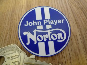 John Player Norton Motorcycle Pin Badge.