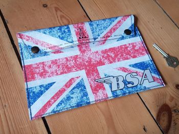 BSA Union Jack Document Holder Folder 9.5""