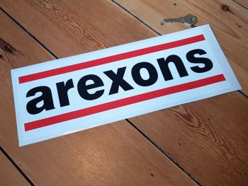 Arexons Oblong Sticker 14""
