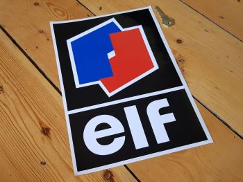 "Elf F1 & F2 Style Sticker 12"""