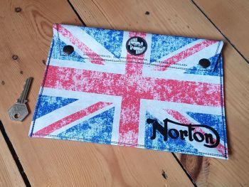 """Norton Union Jack Document Holder Folder 9.5"""""""