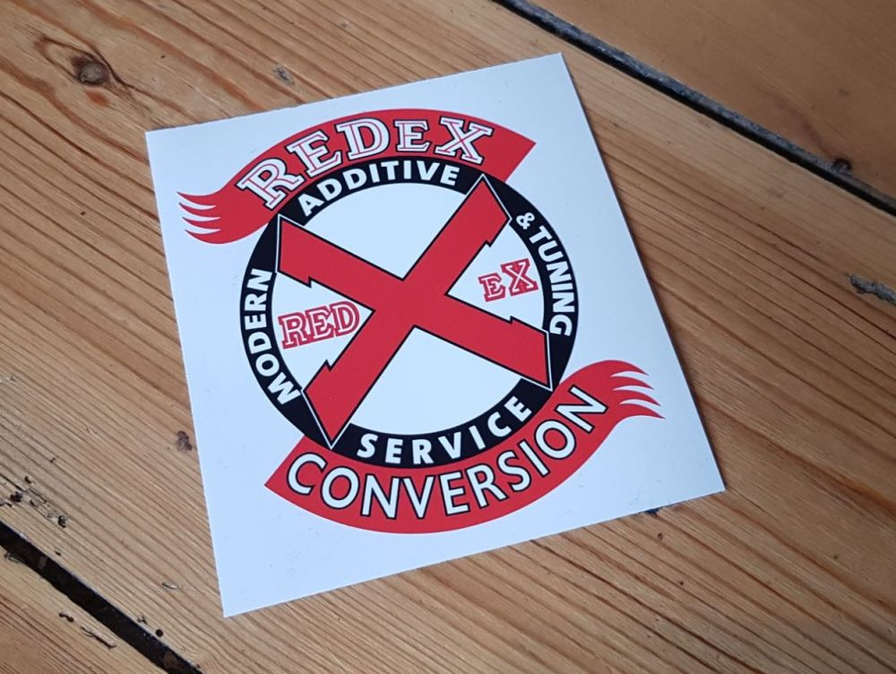 RedEx Conversion Sticker 11.75