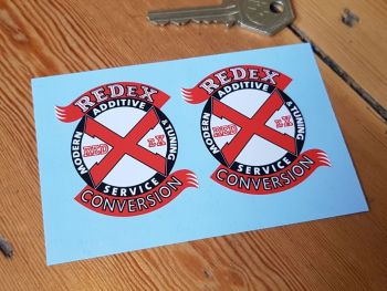 "RedEx Conversion Stickers 2.25"" Pair"