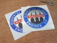 Coventry Climax Engines Ltd. Circular Sticker - 4""