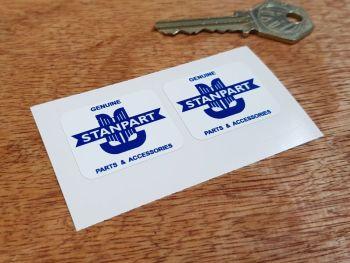 Triumph Genuine Stanpart Parts & Accessories Stickers 33mm Pair