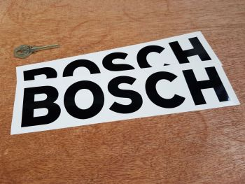 "Bosch Cut Vinyl Stickers 10"" Pair"
