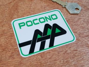 Pocono Window Sticker 3.25""