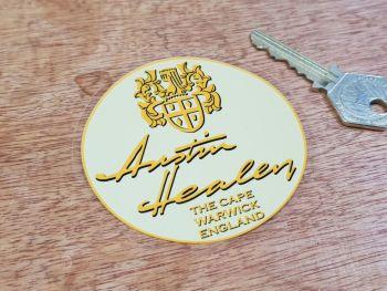 "Austin Healey The Cape Window Sticker 3"""