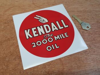 """Kendall Oil Sticker - 3"""" or 6"""""""