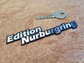 """Nurburgring Edition Text Self Adhesive Badge 5"""""""