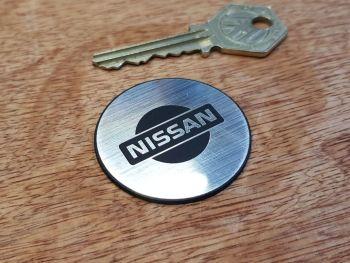 Nissan Circular Self Adhesive Car Badge 42mm