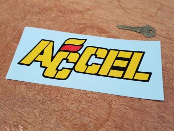 "Accel Text Sticker 7.5"""