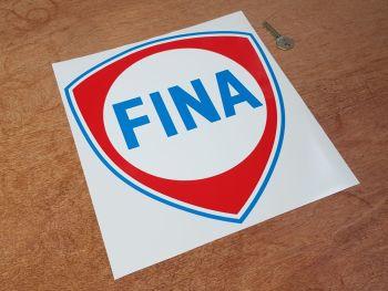 "Fina Blue Coachline Shield Sticker - 9"" or 12"""