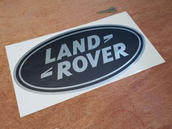 """Land Rover Old Style Oval Sticker 14"""""""