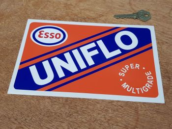 """Esso UniFlo Super Multigrade Sticker 8"""""""