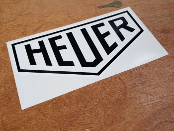 Heuer Early Style Sticker 12""