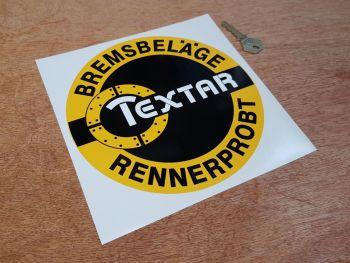"Textar Circular Sticker 7.75"""