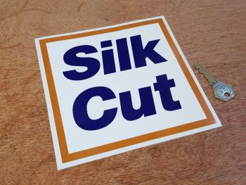 Silk Cut Logo Sticker 6.75""
