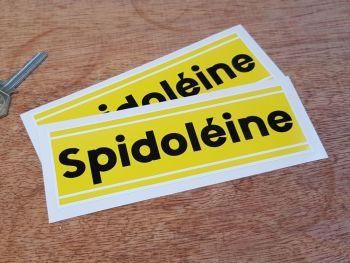 """Spidoleine Oblong Stickers 6"""" Pair"""