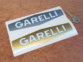 "Garelli Lozenge Stickers 7"" Pair"