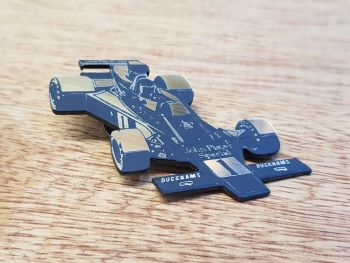 John Player Lotus Race Car Pin Badge