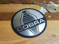 AC Cobra Style Laser Cut Self Adhesive Car Badge - Various Sizes