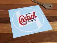 """Castrol Wakefield No Background Stickers - 2"""", 3"""", 4"""", or 6"""" Pair"""
