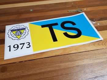 24 Heures Du Mans LeMans Class Sticker - TS - 1973 or 1975 - 12""