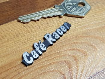 Cafe Racer Laser Cut Self Adhesive Bike Badge 2""