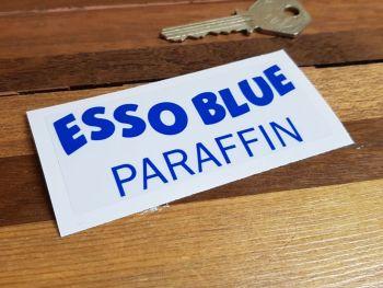 """Esso Blue Paraffin Clear Sticker 3.5"""""""