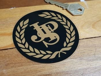 "JPS Garland Circular Window Sticker 3.5"""