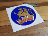 "Bedford Circular Logo Sticker 4"""