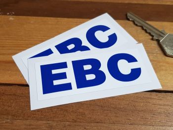"EBC Oblong Stickers 3.25"" Pair"