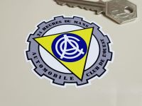 ACO 24 Heures Du Mans Cog Shaped Sticker. 2.5