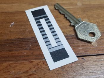 Heat Slider Sticker 67mm x 15mm