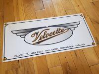 Velocette Winged Veloce Ltd Art Banner. 28